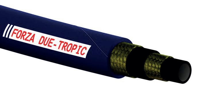 High temperature hydraulic hose 2SN TROPIC