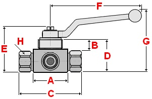 3-Way Directional Ball Valve